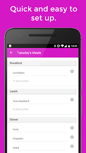 Plan Meals - MealPlanner- screenshot thumbnail