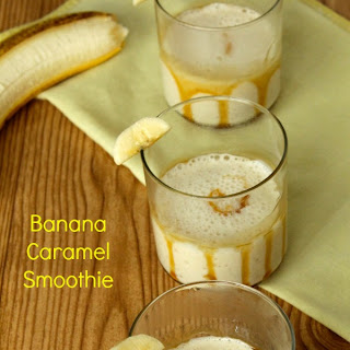 Banana Caramel Smoothie.