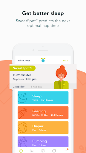 Huckleberry: Baby Sleep, Pumping & Feeding Tracker Apk 2