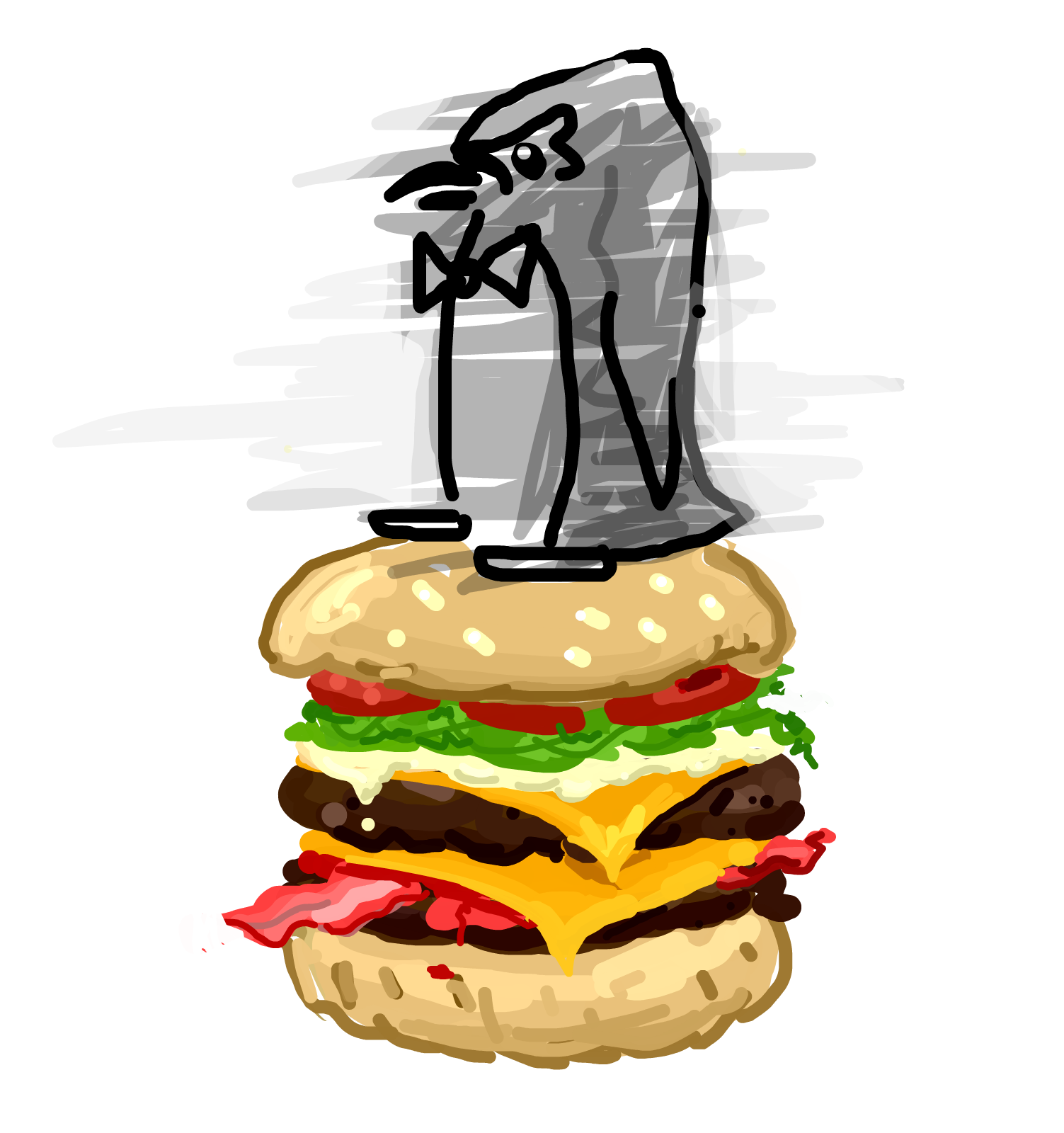 papachan loves burgers