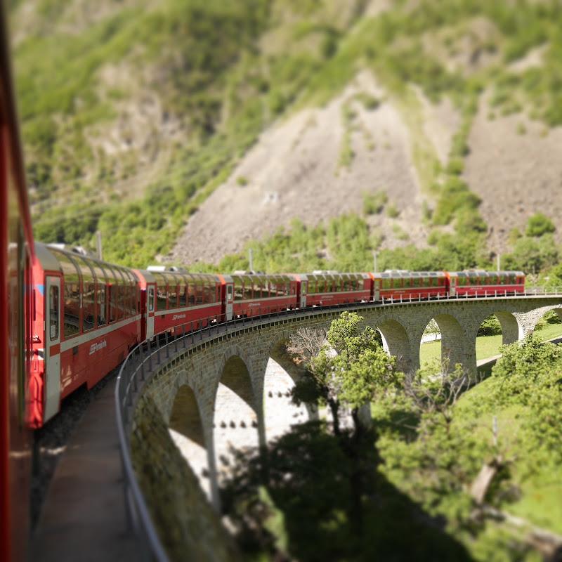 il trenino rosso di Casumatrix