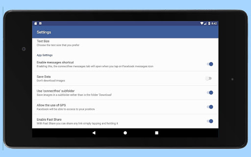 Download Connect for Facebook Lite Google Play softwares