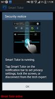 screenshot of Smart Tutor for SAMSUNG Mobile