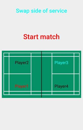 Badminton Score Keeper