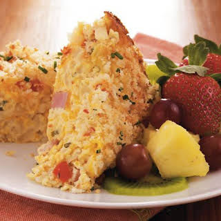 Cheesy Ham Breakfast Casserole.