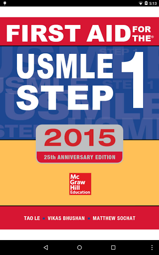 First Aid USMLE Step 1 2015