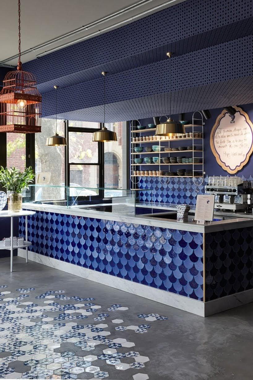 Haldane Martin ha diseñado el recientemente inaugurado Swan Cafe en Ciudad del Cabo
