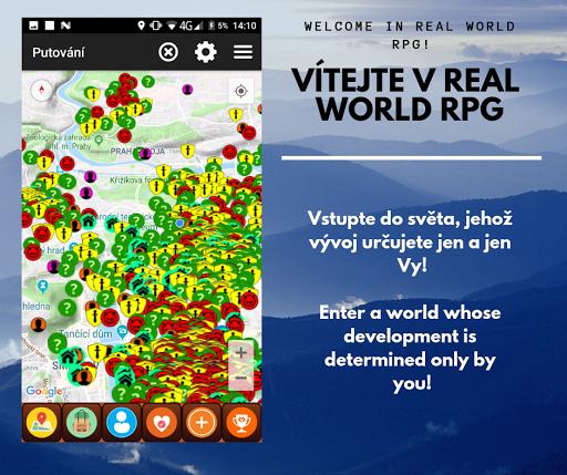 Real world RPG (online GPS game)  captures d'écran 1
