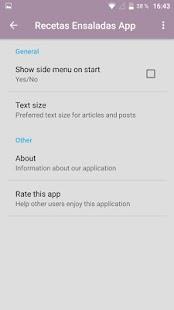 Recetas Ensaladas App - náhled