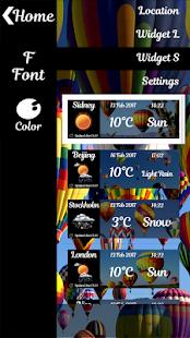 balónu počasí & Hodiny - náhled