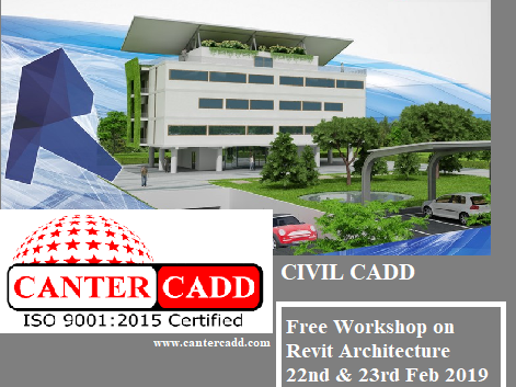 🎓 CANTER CADD-AutoCad/Creo/Revit MEP/Staadpro/3DSMax Vray