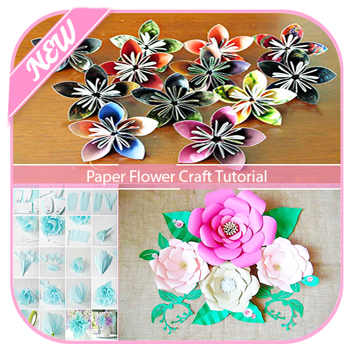 App Insights Paper Flower Craft Tutorial Apptopia