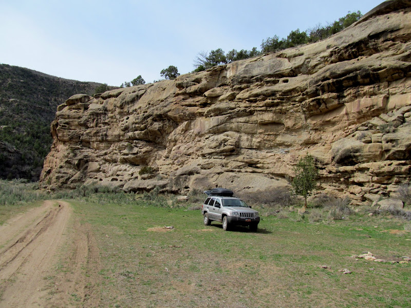 Photo: Lunch spot at the mouth of Hay Canyon