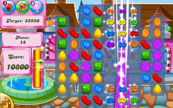 Candy Crush Saga APK screenshot thumbnail 12