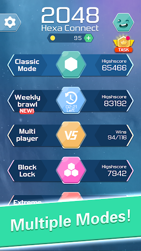 Merge  Block Puzzle - 2048 Hexa 1.3.7 screenshots 1