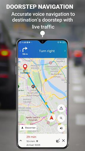 MapmyIndia Move: Maps, Navigation & Tracking 9.5.0 screenshots 5