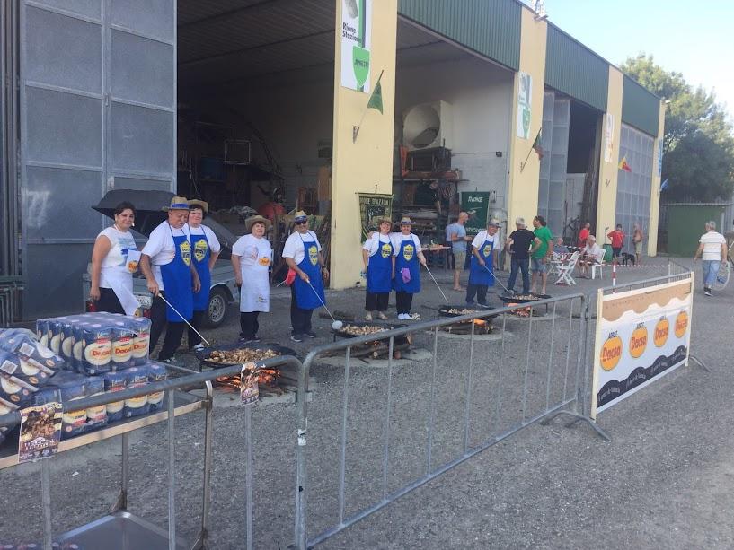 Cecina acoge con éxito la degustación de paellas de la Federación Junta Fallera de Sagunto