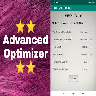 App GFX Tool for PUBG - No Lags APK for Windows Phone