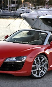 Themes Audi R8 Spyder screenshot 1