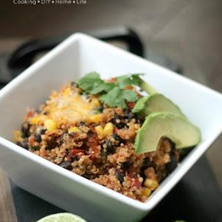 Mexican Quinoa Bowls.
