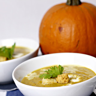Indian Inspired Pumpkin Soup