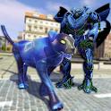 Multi Panther Robot Hero: Grand Robot City Battle icon