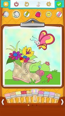 春の塗り絵 無料 ぬりえ Androidアプリ Applion