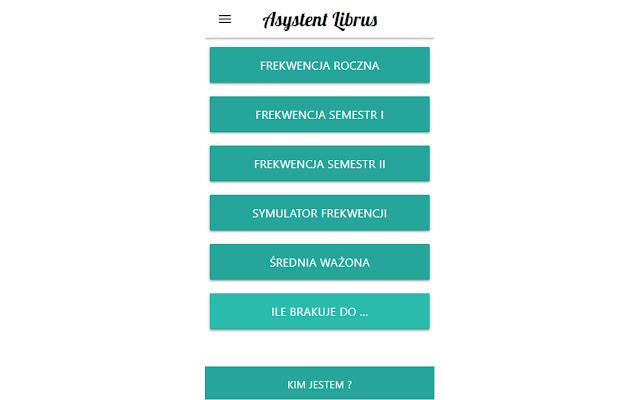 Asystent Librus (Frekwencja i Średnia)