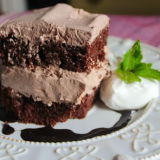 Three Musketeer Chocolate Cake