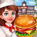 High School Café Girl: Burger Serving Cooking Game icon