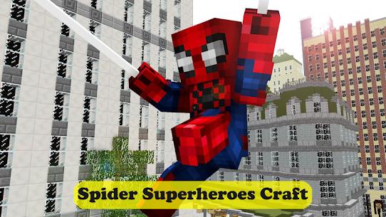 Spider Superheroes MCPE 4