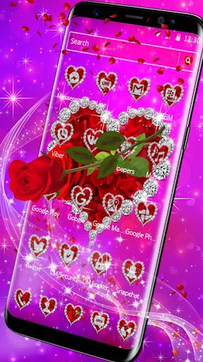 shiny rose diamond theme screenshot 3