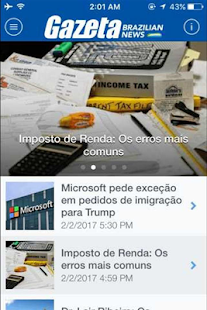 Gazeta News- screenshot thumbnail