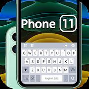 Green Phone 11 Keyboard Theme
