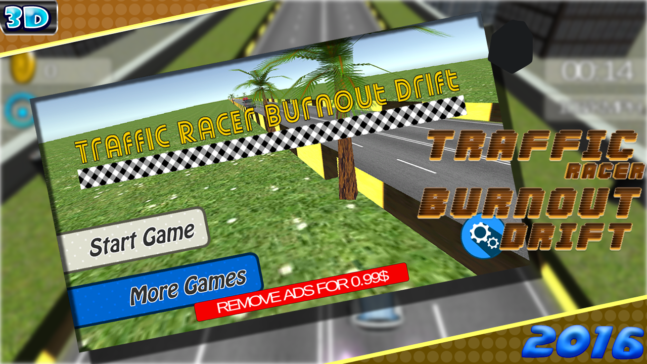 Traffic Racer 🚗 Burnout Drift- screenshot