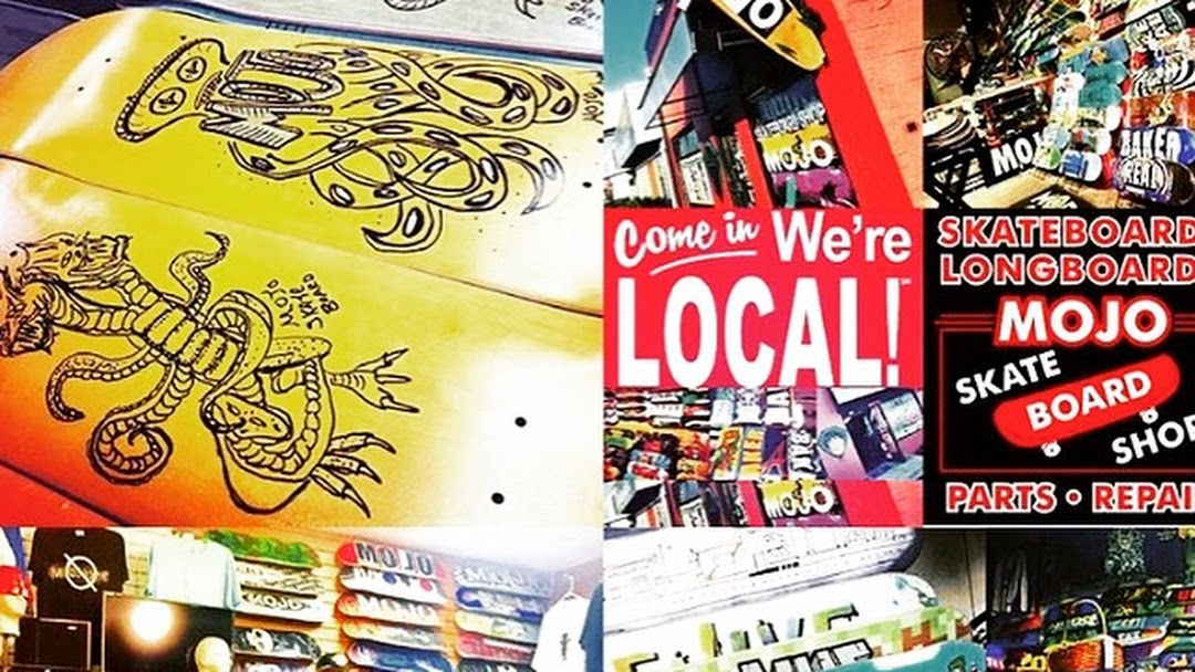 Mojo Skateboard Shop - Skateboard and Longboard Shop in