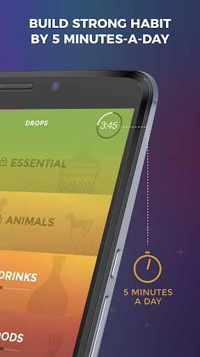 Drops: Learn French language and words for free screenshot 4