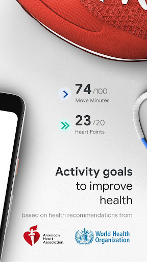 Google Fit screenshot 2