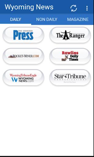 Wyoming Newspapers all News 1.1 screenshots 1