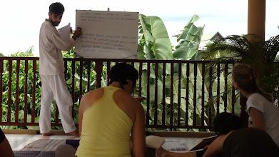 Photo: Daniel Fonseca during Yoga Class in Chiang Mai, Thailand.
