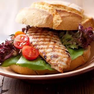 Satisfying Grilled Chicken Sandwich.