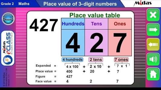 MiDas eCLASS Maths 2 Demo screenshot 3