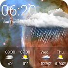 Galaxy Wetter-digital-Uhr icon