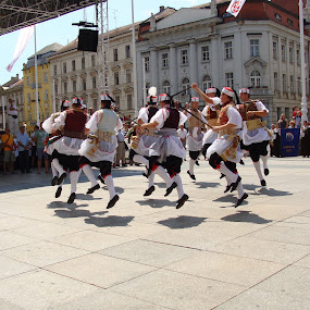 International Folklore Festival by Babica Slez - City,  Street & Park  Street Scenes ( history, kumpanjija, korčula, blato, folklore, festival, dance, entertainment,  )
