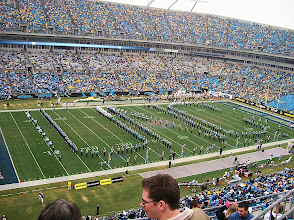 """Photo: Obviously spelling out """"UNC."""""""