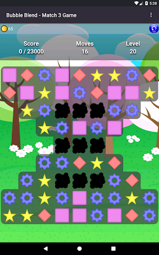Bubble Blend - Match 3 Game modavailable screenshots 4