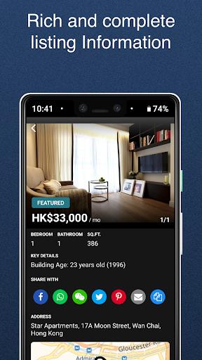 u5343u5c45 Spacious Real Estate Properties for Rent & Sale 6.8.0 Screenshots 8