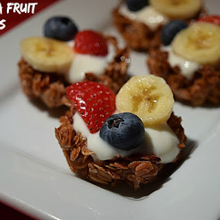 Granola Fruit Cups