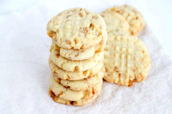 Texas Almond Crunch Cookies Recipe   Yummly