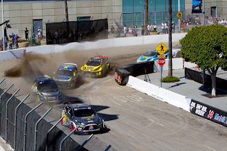 Photo: RallyCross on the streets of Los Angeles at X Games 17